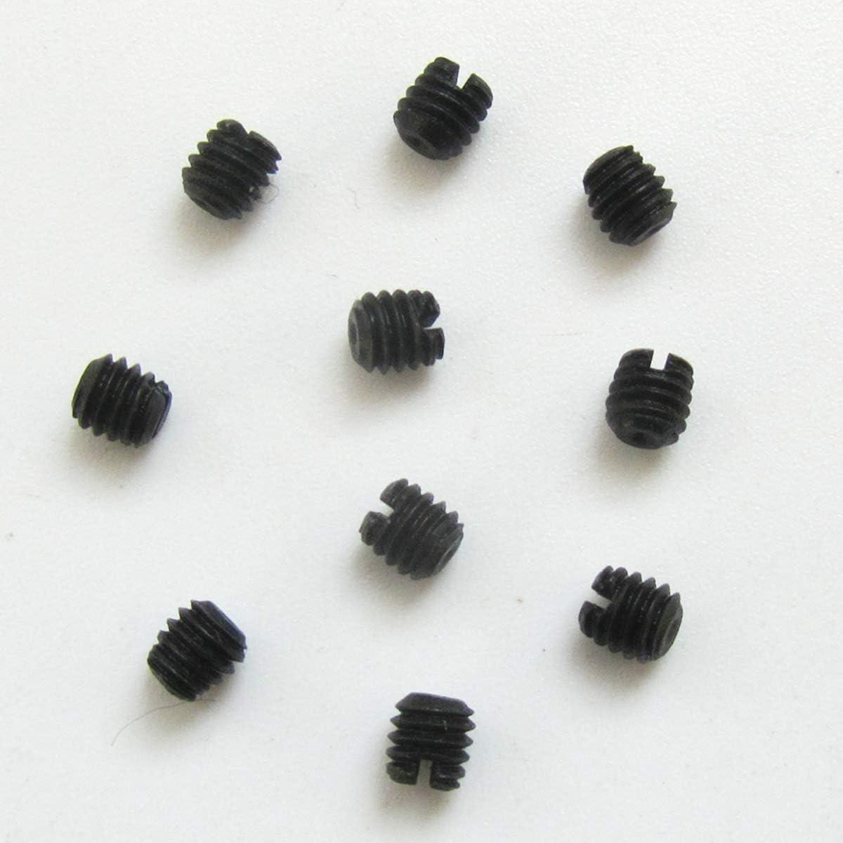 KUNPENG - 10 piezas TORNILLO DE AGUJA 1/8-44 L-3.0MM 4 CADA UN # 3637 para YAMATO DCZ361 CERRADURA INDUSTRIAL para YAMATO AZ8000