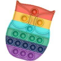 Push Bubble Fidget Toy, Pop It Fidget Toy, Pop Bubble, Pop-it, Pop Fidget Toys Knijp Zintuiglijke Speelgoed Stress…