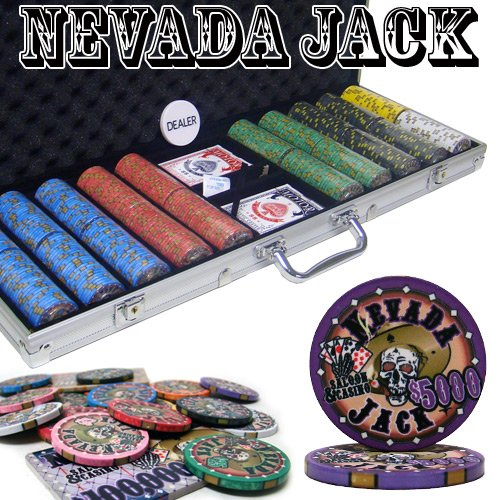 Brybelly Holdings pcs-2503 B00O73H53Q pcs-2503 pre-packaged – 500 Ct 500 Nevada Jack 10グラムチップセット B00O73H53Q, きものe-shopおうみ屋:98dfdcfd --- itxassou.fr