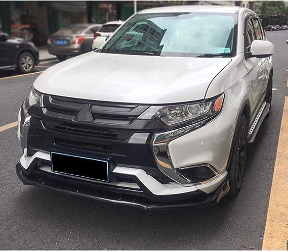 Ldxct Pp Auto Front Stoßstange Spoiler Tuning Front Lip Splitter Diffusor Luftdämme Chin Trim Guard Body Kit Für Mitsubishi Outlander 2016 2020 Küche Haushalt