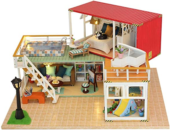 TTWL Cabina De Bricolaje Modelo De Construcción Creativa Envío De ...