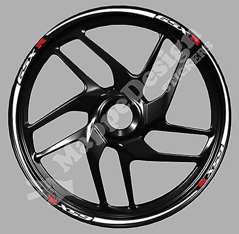 Vinilos para llantas de moto Suzuki serie GSX-R: GSX-R 600,