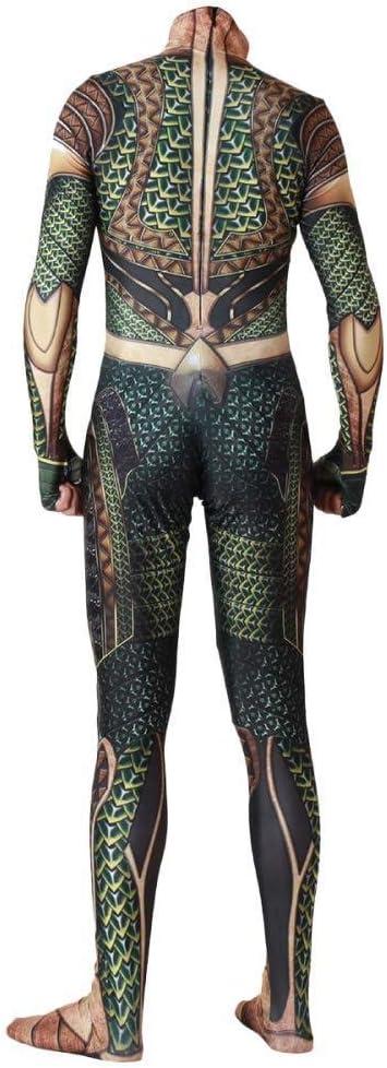 Traje De Cosplay De Aquaman Juego De Roles Ropa De Rol Ropa Mono ...