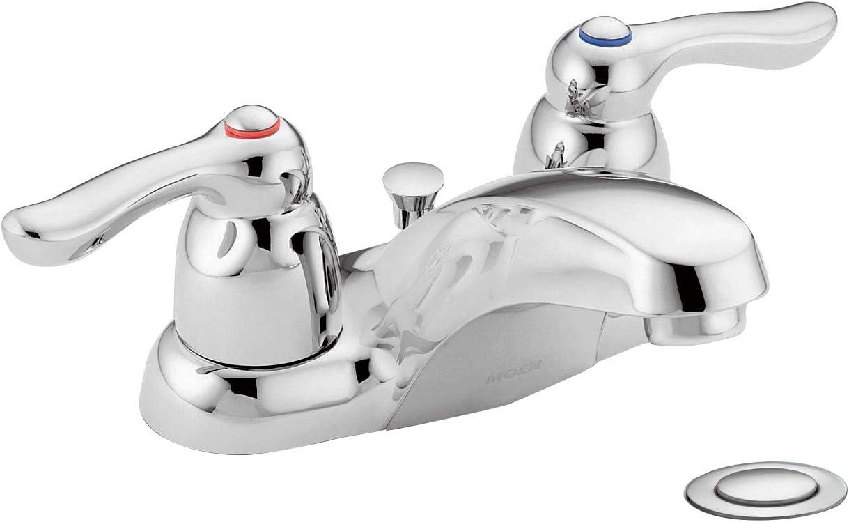 Moen 8915 Commercial M-Bition 4-Inch Centerset Lavatory Faucet 1.5 gpm, Chrome