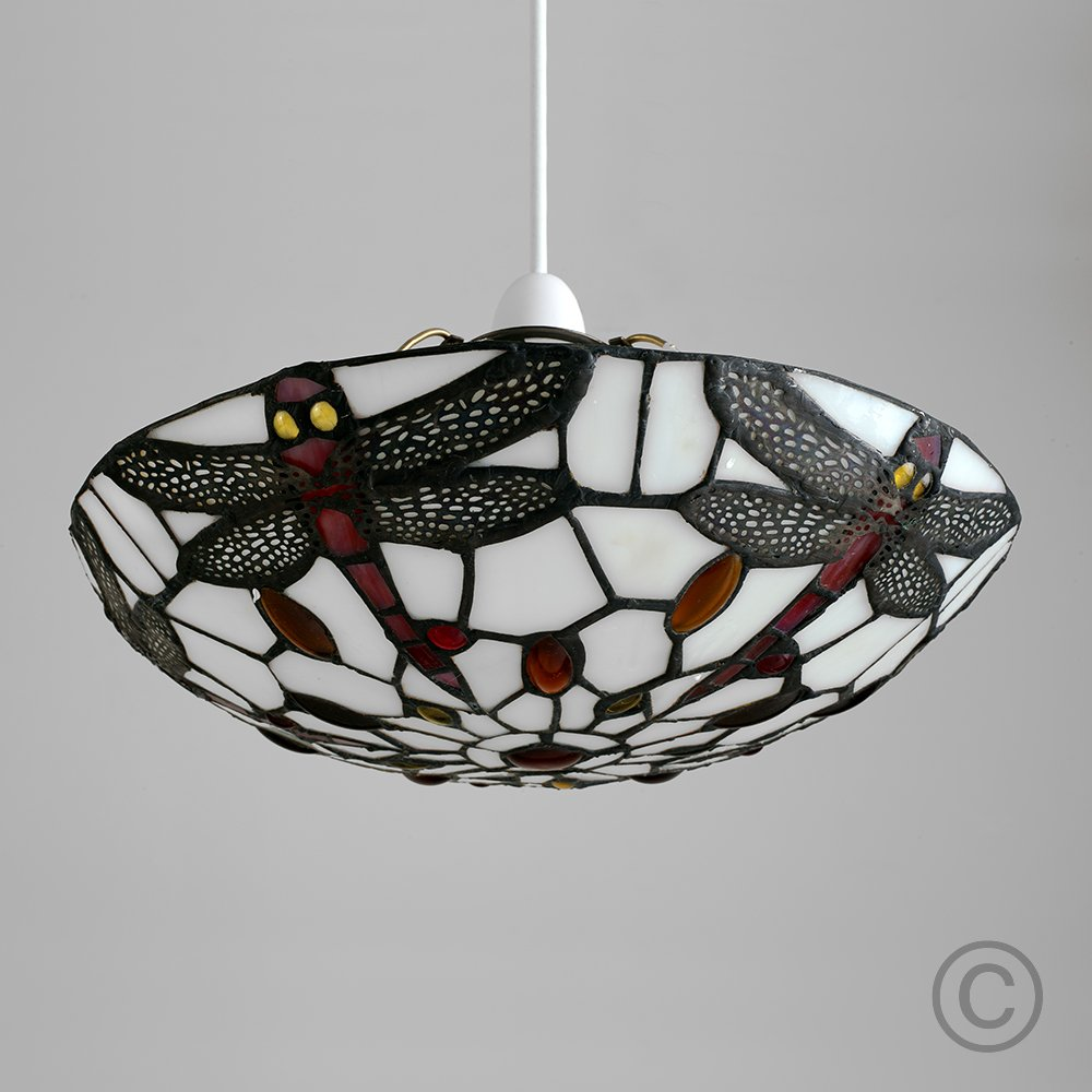 ceiling light feux lamps lights mille tiffany ceilings pendant inverted interiors