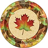 Woodland Fall Dinner Plates, 8ct