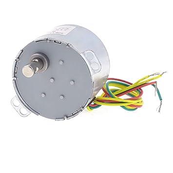 Microondas de repuesto AC 220 V 5 RPM 50 Hz Motor Síncrono
