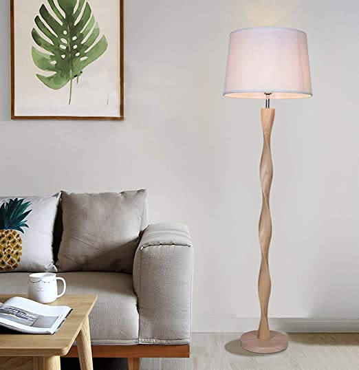 Amazon.com: HN Lighting Lámpara De Pie Moderna, Lámpara De ...