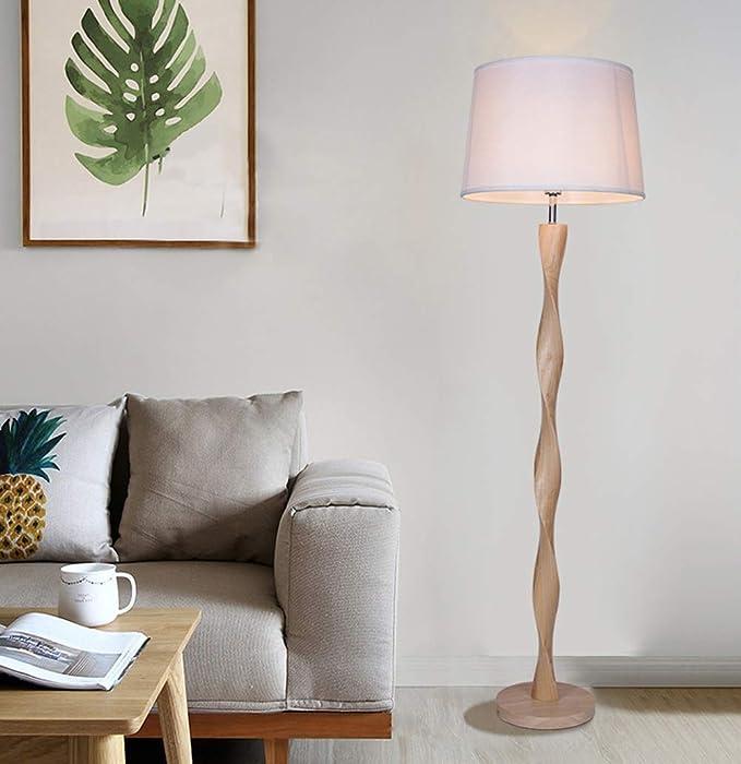 Amazon.com: HN Lighting Lámpara De Pie Moderna, Lámpara De ...