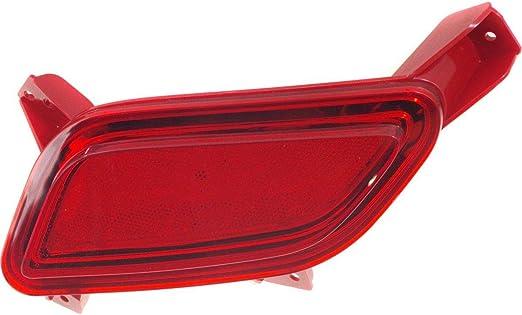 New Rear Driver Side Bumper Reflector For 2012-2015 Bmw 3 Series 2014-2017 4 Series For Sedan Models BM1184100 63147382233