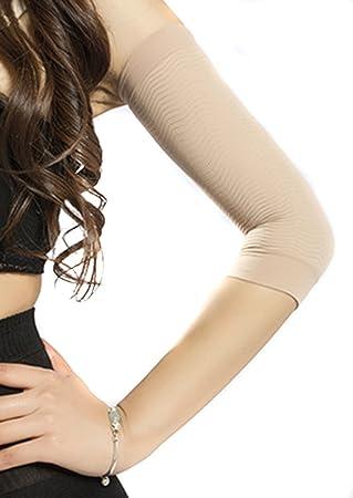Manchon de Bras Compression Bras Manches Femme Shaper Amincissant Minceur Nu 8d85767db96