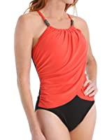 Magic Suit Women's Solid Lisa Underwire One-Piece