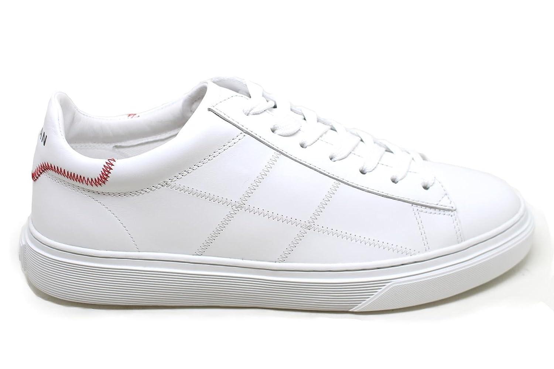 Hogan Zapatillas de Piel Para Hombre 10|Bianco