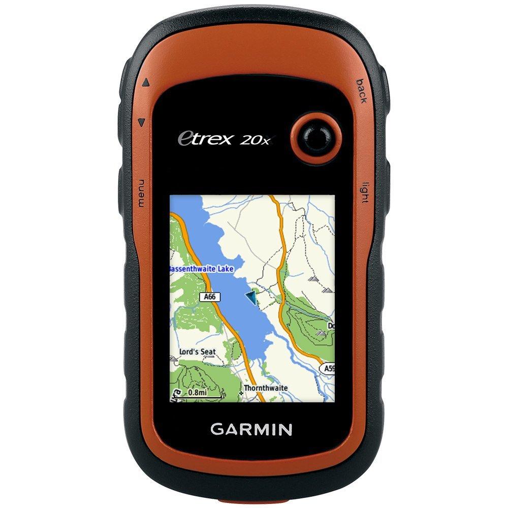 Garmin eTrex 20x Outdoor Navigationsgerät (TopoActive Karte, hochauflösendes 5,58cm (2,2 Zoll) Farbdisplay) (Zertifiziert und Generalüberholt)