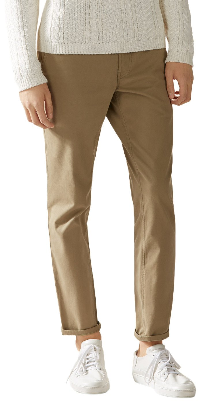 Gucci Men's Softened Stretch Cotton Short Chino Casual Pants, Beige, 28 by Gucci (Image #1)
