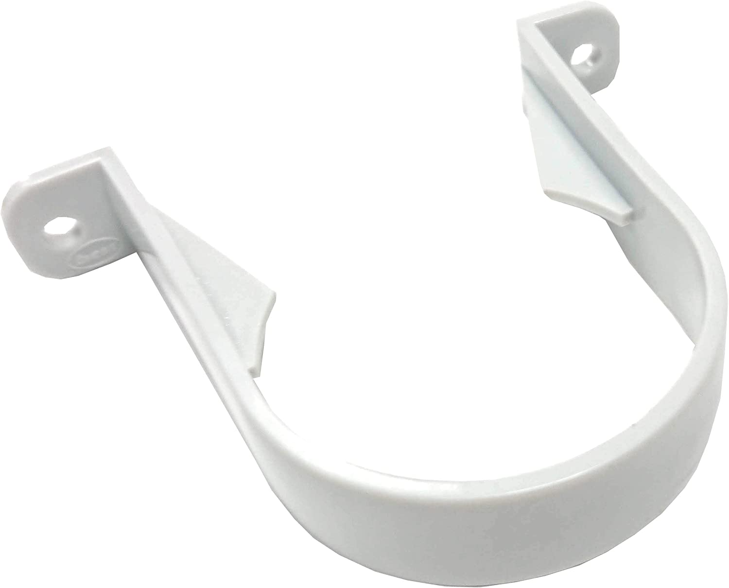 GREY Bracket,fixing for 68MM Downpipe RWC1 Pack of 2 X Marshall Tufflex Pipe Clip