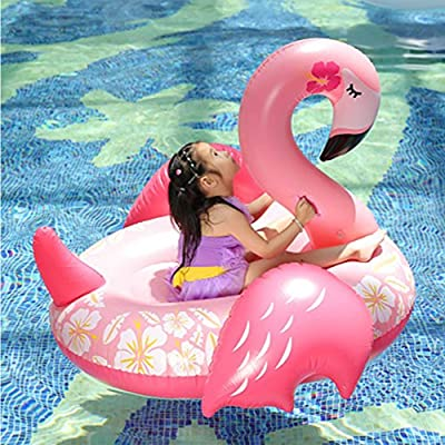 YAOBAO Inflatable Flamingo Pool Float,Swimming Pool River Raft Float Flamingo Child Pool Lounger