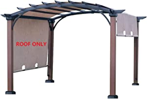 ALISUN Replacement Sling Canopy (with Ties) for The Lowe's Allen + roth 10 ft x 10 ft Tan/Black Material Freestanding Pergola #L-PG152PST-B (Size: 200