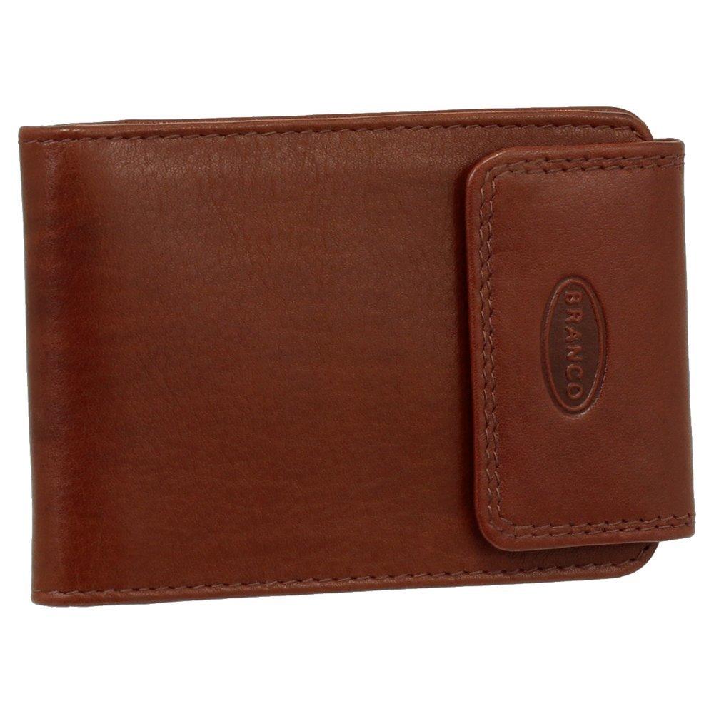 Branco Kartenetui Kreditkartenetui Visitenkartenetui echtes Leder im Querformat