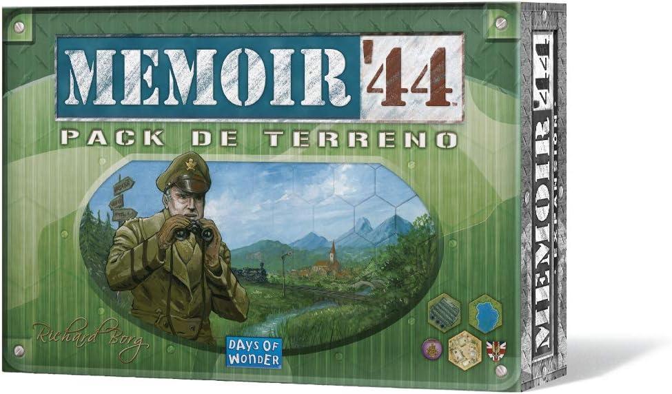 Days of Wonder- Memoir 44: Pack de Terreno - Expansión - Español, Color (DOW7382): Amazon.es: Juguetes y juegos