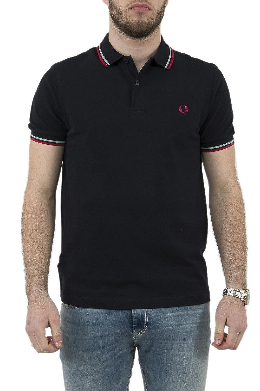 6608dad6 Fred Perry Men's Polo Shirt - Blue - XXX-Large: Amazon.co.uk: Clothing