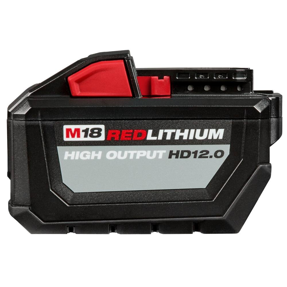 Milwaukee M18 18-Volt Lithium-Ion High Output Battery Pack 12.0Ah by Milwaukee M18 Batteries Kit (Image #1)