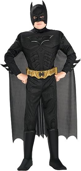 Batman - Disfraz Deluxe TDK, para niños, talla L (Rubies 883104-L ...