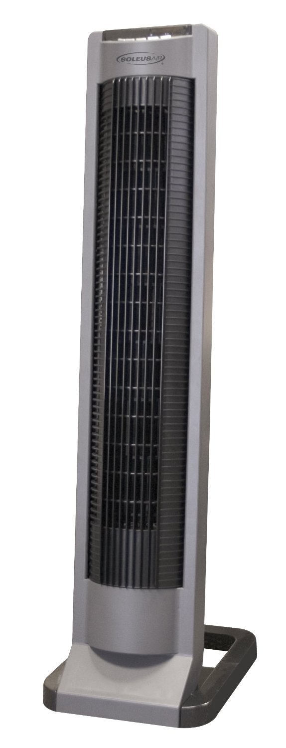 """Soleus Air 35"""" Tower Fan with Remote Control, # FC-35R-A"""