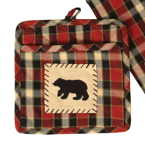 Concord Black Bear Potholder