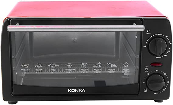 KONKA Toaster Oven Home 12L Mini Baking Oven KAO-1202 1050W With Bakeware