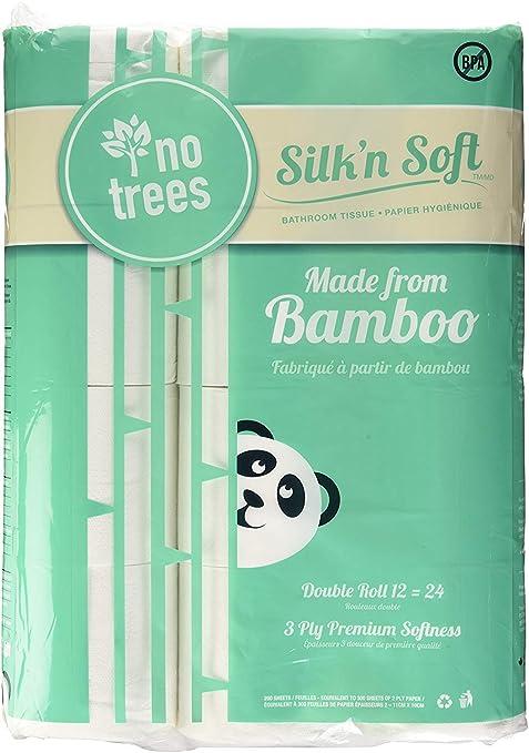 Papel higiénico de bambú SilkN - sin árboles, respetuoso con el ...