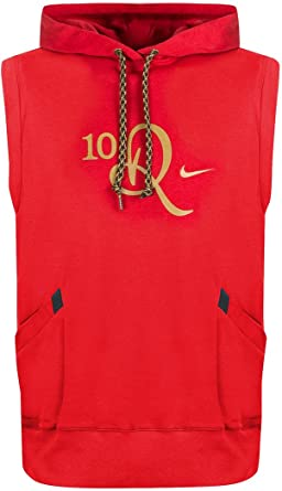 the best attitude cheap sale latest design Nike 'Ronaldinho 10R' Sleeveless Hoodie - Red (Extra Large ...