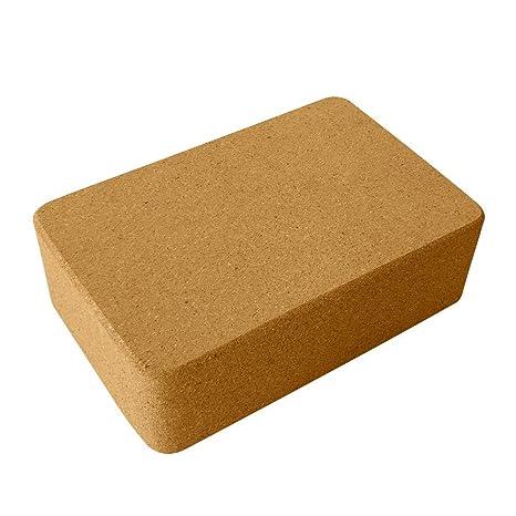 Amazon.com: AA-fashion Wooden Brick Yoga Block Natural ...