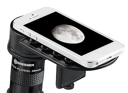 Bresser deluxe smartphone adapter für teleskope amazon kamera
