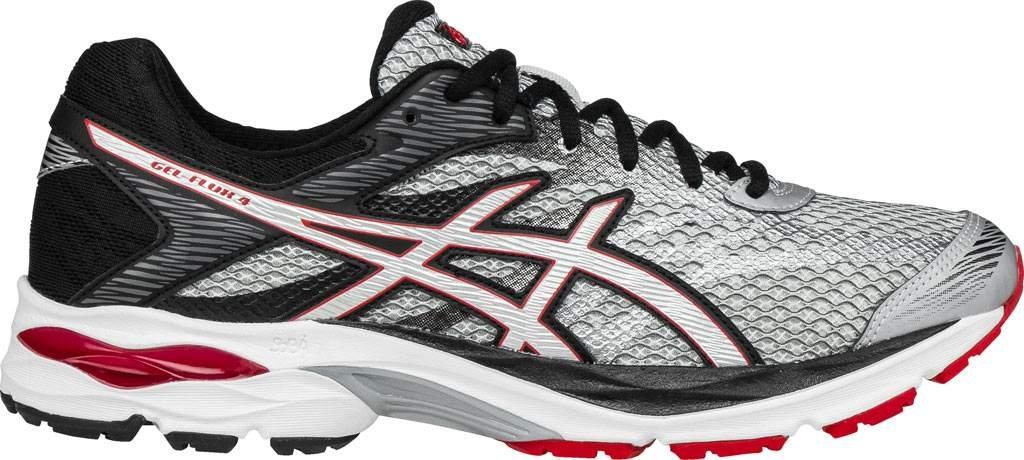 ASICS Men's Gel-Flux 4 Running Shoe B01N0X0ENT 12.5 C/D US Glacier Grey / Silver / Vermilion