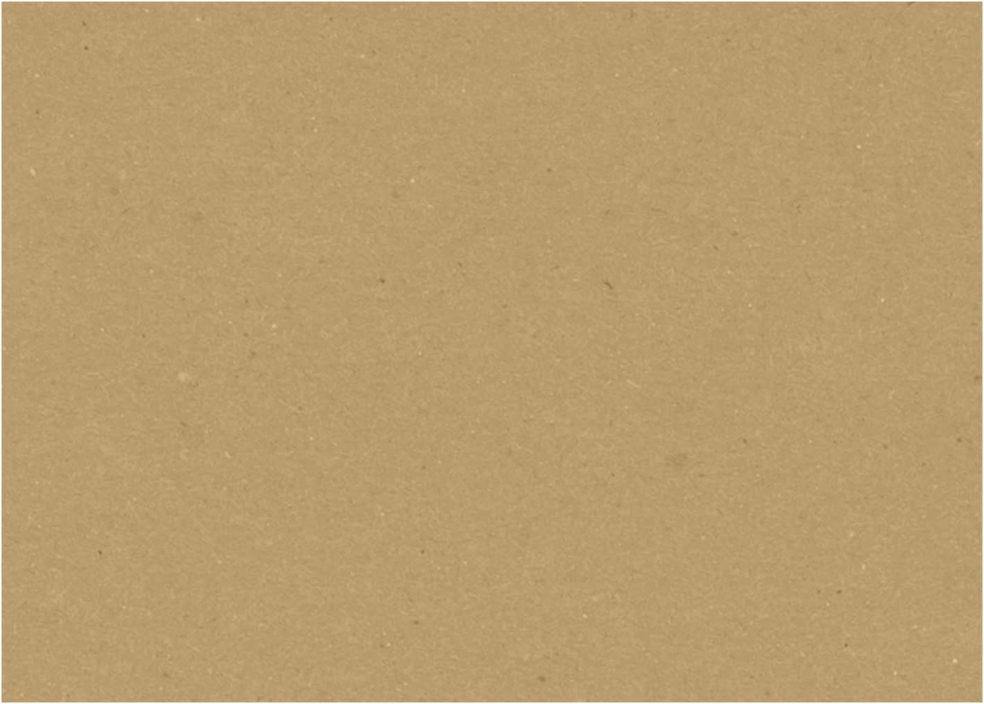 Scrapbook and Office Supplies Cards 500 Pack Grocery Bag LUXPaper 5 x 7 Flat Cardss in 18pt Grocery Bag for Crafts