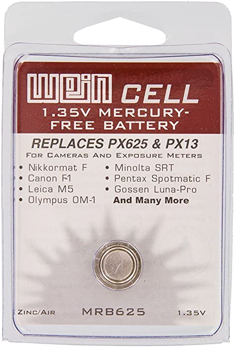 2 x WeinCell MRB625 Replacement Battery for PX625/PX13