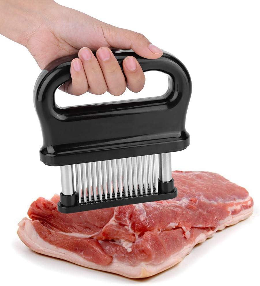 Fleisch Fleischklopfer 56 Edelstahl Klingen Professionelle K/üche Kochwerkzeug,Werkzeug f/ür Rindfleisch Fleischzartmacher Steak Huhn