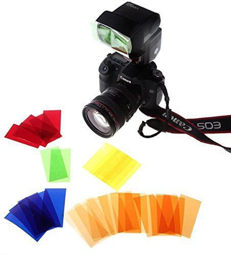 Yunchenghe 6 in 1 Speedlite Flash Accessory Kit with Softbox Filter Reflector Flash Light Beam Snoot SA-K6