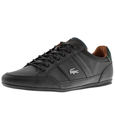 6b70cd11c Mens Lacoste Chaymon Trainers Black  Amazon.co.uk  Shoes   Bags