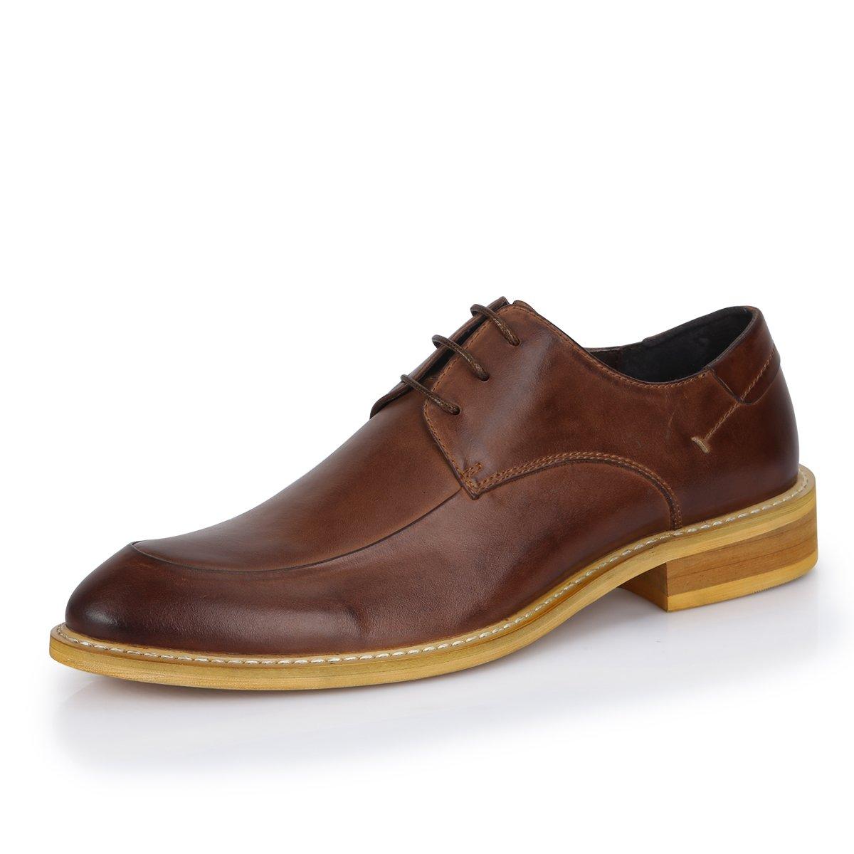 Gaofu yinxiang Herren 's British Stil Casual Spitze bis Leder Schuhe
