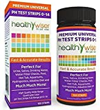 100 Ct Per Pack Super Popular pH Tester Strips Sensitive Accurate Litmus Indication Soil Food Indicator Wide Range 0-14pH with Color Chart
