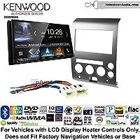 Volunteer Audio Kenwood DDX9904S Double Din Radio Install Kit with Apple CarPlay Android Auto Bluetooth Fits 2006-2007 Nissan Armada, Titan