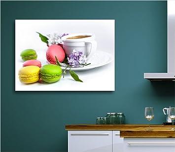 Quadri L&C ITALIA - Macaron caffè - 70x50 cm Quadro moderno per ...