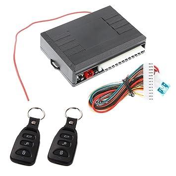 Asiproper Universal Car Door Lock Locking Keyless Entry System