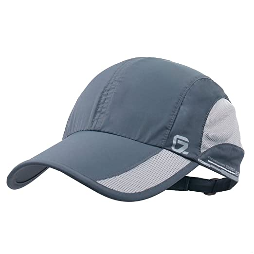GADIEMENSS Quick Dry Sports Hat Lightweight Breathable Soft Outdoor Running  Cap (Classic UP e27689543db