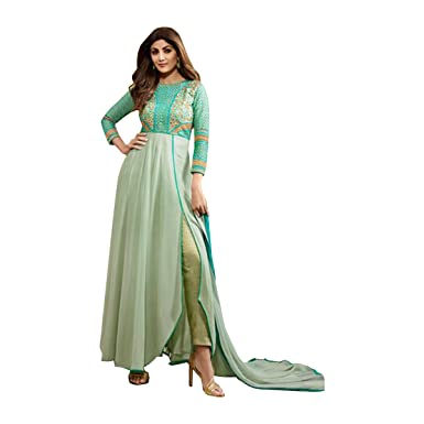 Bollywood Designer Party Wear Long Anarkali Gown Lehenga Indian Pakistani Saree For Fast Shipping Other Women's Clothing