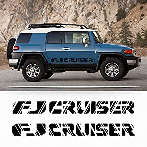 Fj Cruiser Sticker >> Amazon Com Toyota Fj Cruiser Trd Sport Side Stripe Graphics Decal
