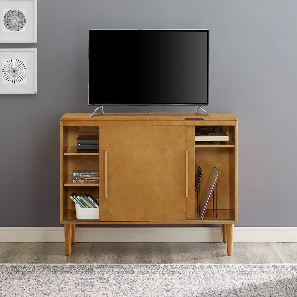Crosley Furniture Everett Record Player Stand Mahogany CF1104-MA