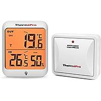 ThermoPro TP63 Digital trådlös utomhushygrometer fuktighetsmätare inomhustermometer temperaturmätare med bakgrundsbelyst…